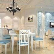 地中海简约风格餐厅装饰
