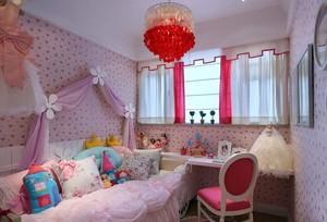孩子们想要的轻快清新的儿童房装修效果图