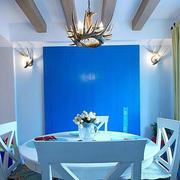 地中海风格餐厅创意灯饰效果图