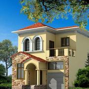 农村两层房屋独立式设计