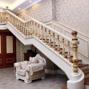 别墅欧式奢华楼梯效果图