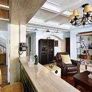 三室一厅美式灯饰设计