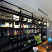 后现代风格大型书房整体书柜
