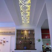 现代简约中式吊顶设计