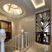 欧式奢华风格楼梯装饰