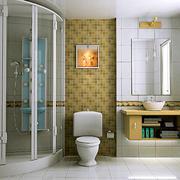 简欧风格卫生间独立浴室装修