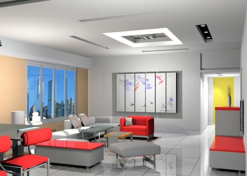 欧式客厅电视柜背景墙装修效果图实例欣赏大全