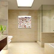 简欧风格卫生间瓷砖效果图