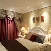 欧式奢华卧室窗户效果图