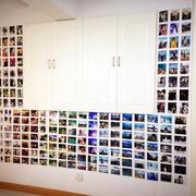 客厅橱柜照片墙装修