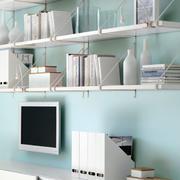 简约北欧风格纯色电视背景墙