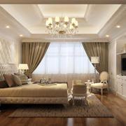 欧式风格卧室木制地板
