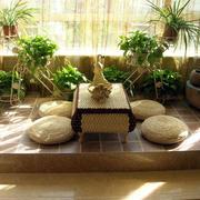日式简约禅意阳台装饰