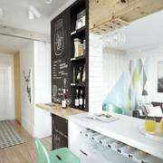 北欧风格厨房吧台