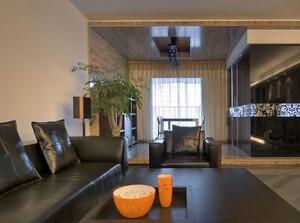 后现代风格客厅家居布置