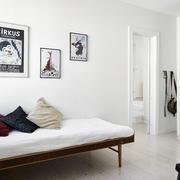 120平米房屋卧室背景墙