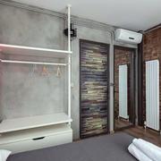 公寓开放式衣柜装饰