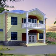 独立小巧简约风格农村房屋设计