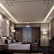 中式卧室后现代风格卧室设计