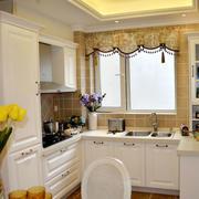 欧式简约风格厨房装饰