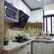 韩式简约厨房橱柜效果图