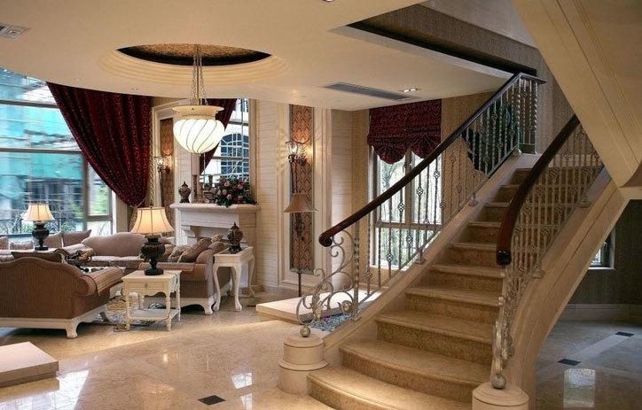 复式楼简约风格楼梯设计图片