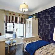 卧室简约飘窗设计