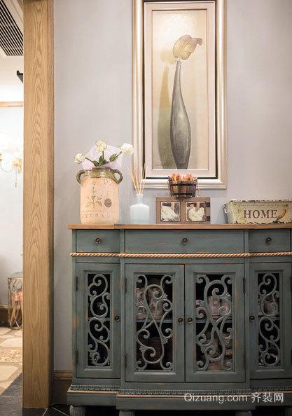 让人充满阳光和浪漫遐想的三室一厅家庭装修效果图
