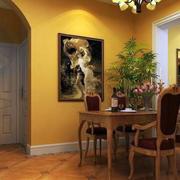 简约风格客厅玄关装修