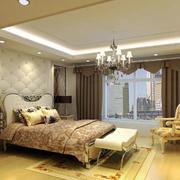欧式室内卧室效果图