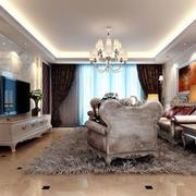 简约风格客厅沙发装饰