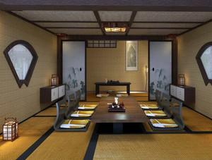 日式餐厅榻榻米设计