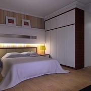 简约风格卧室地板设计