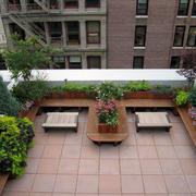 小区顶层花园装饰设计