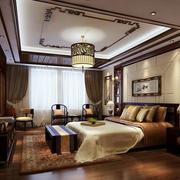 中式卧室古韵吊顶装饰