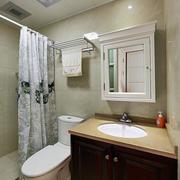 密集型卫生间瓷砖效果图