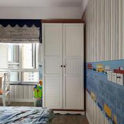 简约风格卧室整体衣柜设计