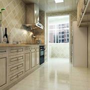 欧式精致柜式厨房装饰