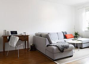 两室一厅公寓客厅地板设计