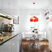 两室一厅后现代风格厨房装饰