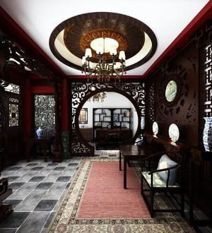 中式四合院客厅装饰