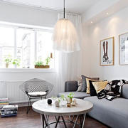 北欧风格简约客厅沙发装饰
