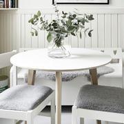 公寓简约风格软质桌椅设计