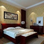 中式卧室床头灯饰设计