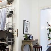 一室一厅简约背景墙设计