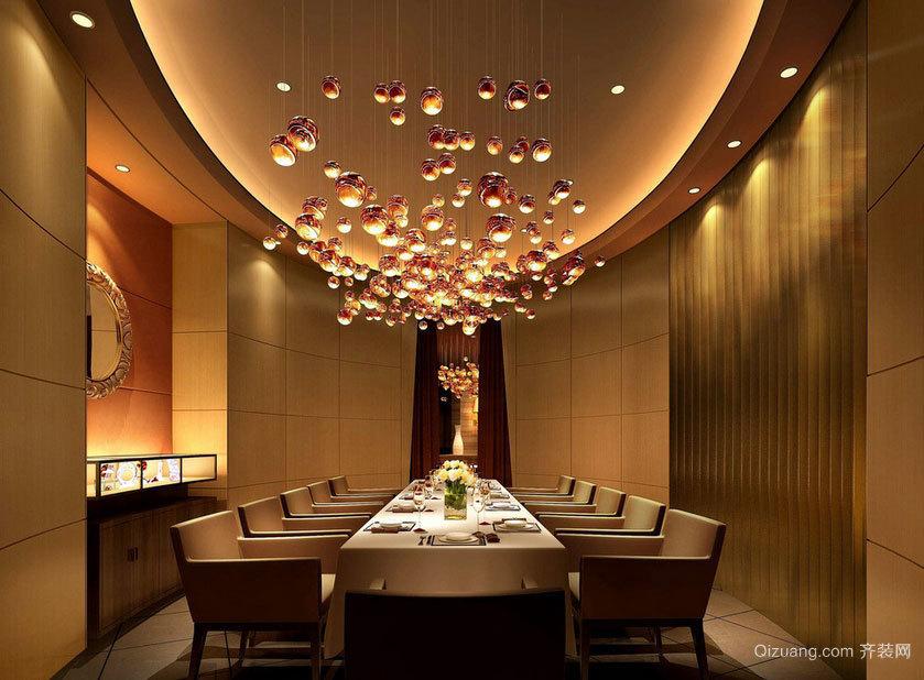 体验贵宾级待遇的高级西餐厅室内装修设计效果图