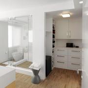 简欧风格大型别墅卫生间设计