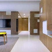 两室一厅客厅玄关装饰