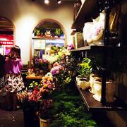 欧式花店创意灯饰设计