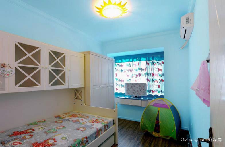 清新怡然的地中海风格儿童房装修效果图大全